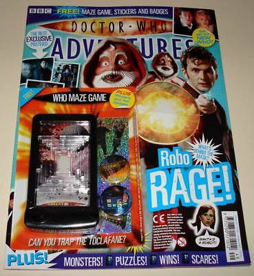 DOCTOR WHO ADVENTURES Comic Magazine # 44 (Dec 2007) with MAZE GAME Gift