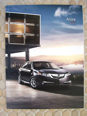 Acura Official Rl Tl Tsx Mdx Rdx Full Line Sales Brochure 2009 Usa Edition.