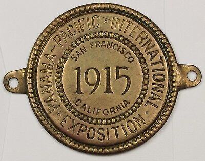 1915 Panama Pacific Exposition.  Brass.  Tag?  116945