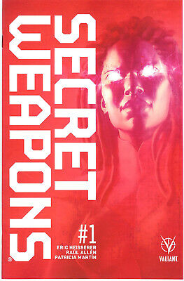 Secret Weapons #1 cover I Raul Allen 2nd printing variant NM/MT new & unread