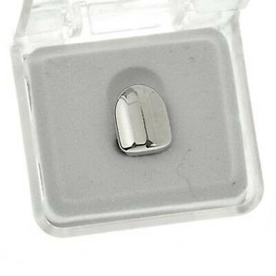 Bling  Tooth Grillz   Dental Grill Single Tooth Silver / Platinum