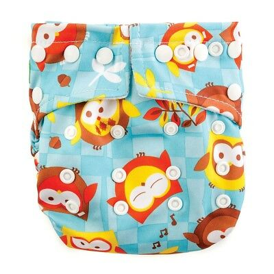 Bumkins Snap in One Diaper - Owl