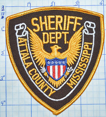Mississippi, Attala County Sheriff Dept Patch