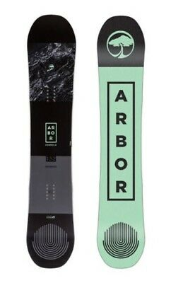 Arbor Snowboard - Formula - Reverse camber, All-Mountain, Mid Wide - 2018