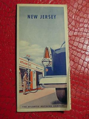 Road Map 1956 - NEW JERSEY - Atlantic Refining