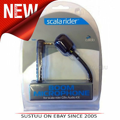 Cardo Scala Rider Mic Set/Microphone│Motorcycle Helmet Intercom│For G9x AudioKit