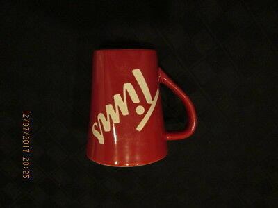 TIMS Tim Hortons Coffee Mug cup limited edition number 013 TIMS red