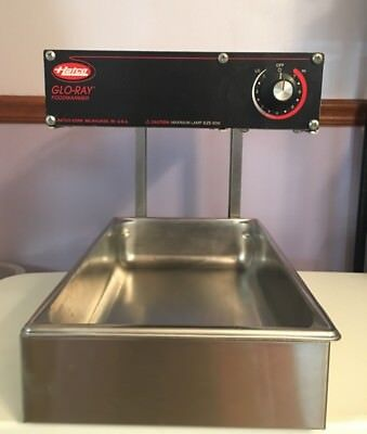 Hatco Commercial heat lamp food warmer NSF safe GRFFL Glo-ray portable 120 Volt