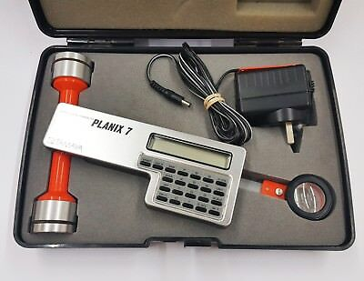 Tamaya Planix 7 Digital Planimeter 365170  hard case A1 Condition Battery Dead