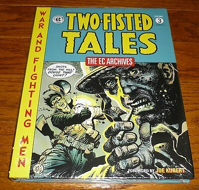 EC Archives Two Fisted Tales Volume 3, SEALED, Dark Horse Comics hardcover book