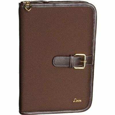 Love Bible Cover, Brown, Small