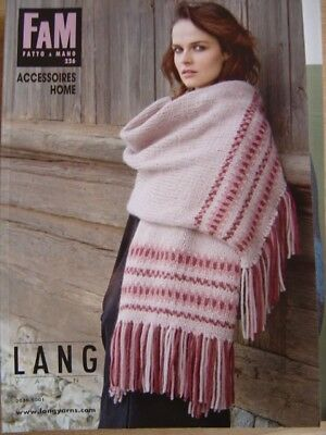 FAM Fatto A Mano Strick-Anleitung Heft 226 Accessoires Home Lang Yarns