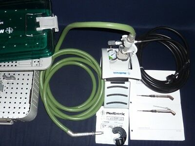 Medtronic Midas Rex MR7 Pneumatic High-Speed Drill Set PM700 System Legend boxed