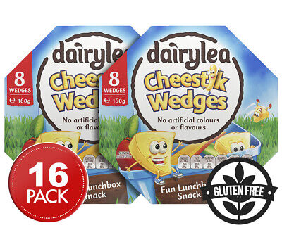 2 x Dairylea Cheestik Wedges 160g 8pk
