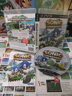 Playstation 3 PS3:Sonic Generations [TOP SEGA & 1ERE EDITION] Fr