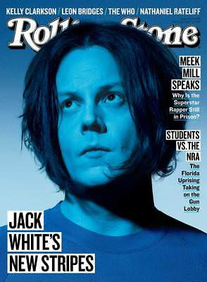 Jack White New Stripes Meek Mill Speaks Rolling Stone March 2018 New No Label