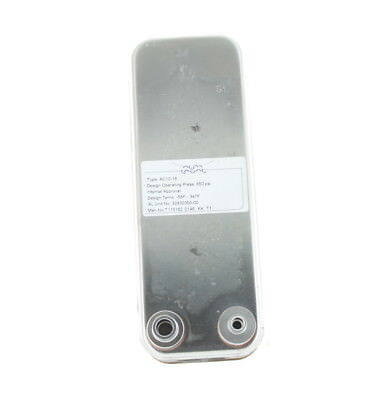 Alfa Laval AC10-16 Brazed Plate Heat Exchanger Rated for 410A 650 PSI