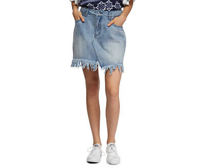 Somedays Lovin Women's Clearing Clouds Denim Skirt - Denim