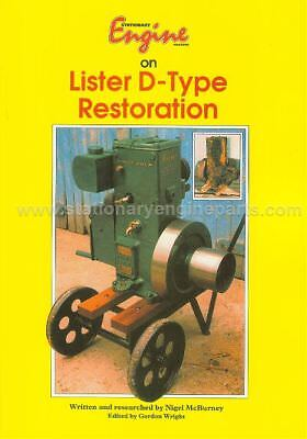 Stationary Engine Magazine on Lister D-Type Restoration Book By Nigel McBurney
