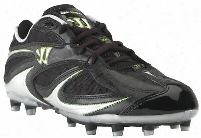 New Warrior Burn Speed 3.0 Low Womens 12.5 Blk/Slvr WMBS3LBK Lacrosse Cleat