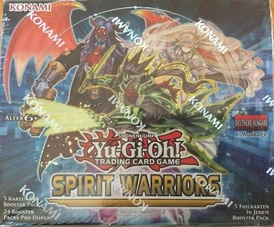Yugioh - 6 Booster Spirit Warriors 1.Auflage in deutsch NEU/OVP