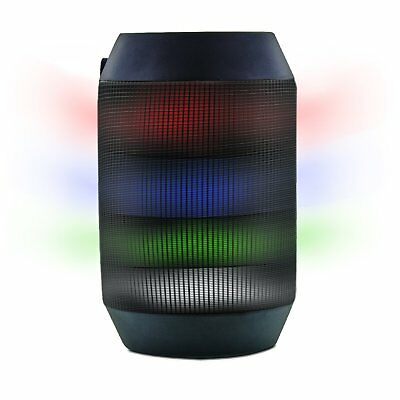 Aduro AMPLIFY LED Bluetooth Wireless Speaker - Color Changing Rave Light Show