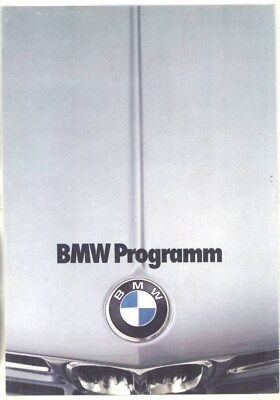 1975 BMW 1602 1802 2002 2002tii 2800 3.0CSL 3.0CSi 3.0CS Brochure German wz1226