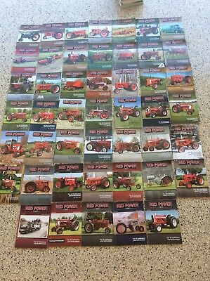 International Harvester IH Farmall Tractor RED POWER Magazine 2007 LOT of 47