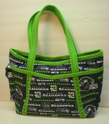 Handmade Seattle Seahawks Purse-Made in USA **CC**  B with Bling!