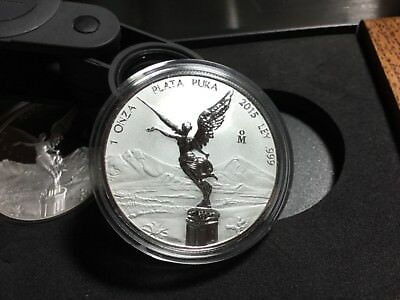 2015 Mexico Libertad Silver Set Only 500 Sets Minted Proof Reverse Proof 43367