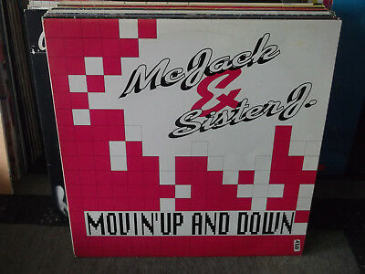 "MC Jack and Sister J: Movin' Up and Down, ua Club Mix, N.B.S.-Records-12""-Maxi"