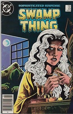 SWAMP THING 1985  no.33 -- Alan Moore -- House of Secrets #92 Homage --