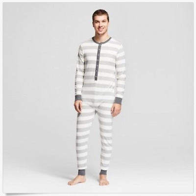 **NEW** Rugby Striped Unionsuit - Wondershop Gray 1X