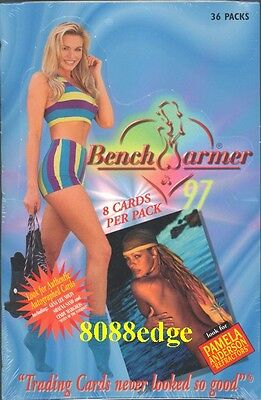 1997 Benchwarmer Factory Sealed Box: Pamela Anderson/margolis Autograph Auto