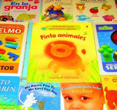 Children's/Kids SPANISH/ESPANOL Book lot of 10-HARDCOVER/BOARD BOOKS-Clifford, S