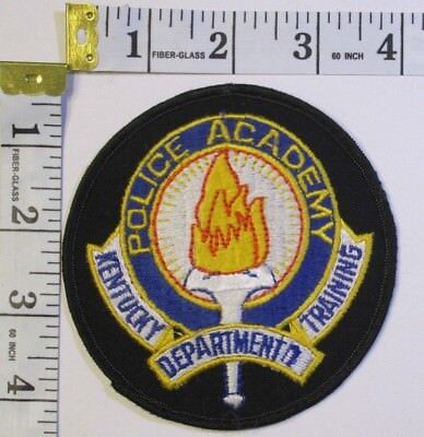 Kentucky Police Academy Training Department Shoulder Patch