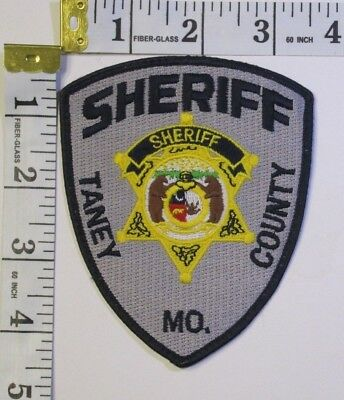 Taney County Missouri Sheriff Department Shoulder Patch