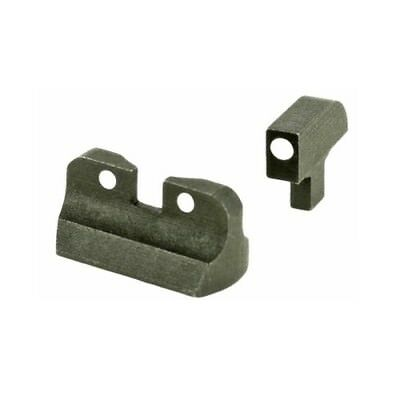 US Military Fits Colt 1911 Low Profile 3 White Dot Front Rear Sight Set