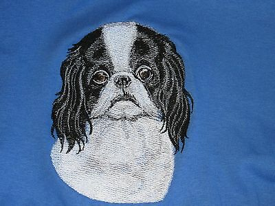 Embroidered Fleece Jacket - Japanese Chin BT3586 Sizes S - XXL
