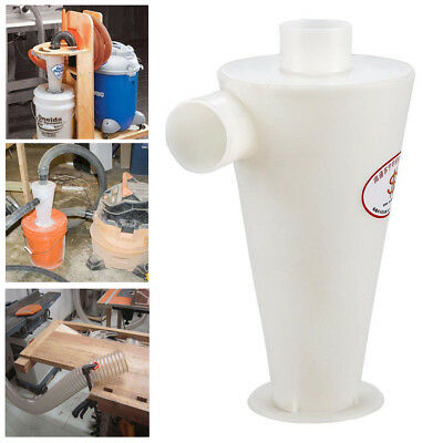 Dust Separator Collector Cyclone Vacuums Cleaners Filter Tool for Wood Working