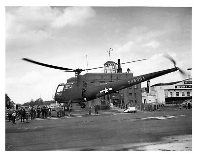 1943 Nash Kelvinator Sirorsky Helicopter WWII Factory Photo ca9098