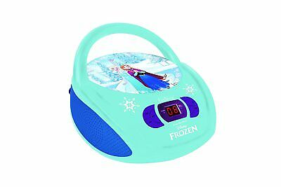 Lexibook RCD108FZ Radio CD Player Frozen Anna Olaf Kind Kinder Musik