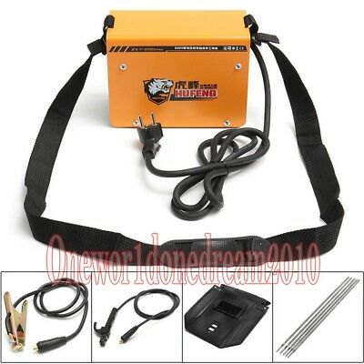 1 Pcs ZX7-200 Mini MMA ARC Welder DC IGBT Welding Machine Solder Inverter 220V