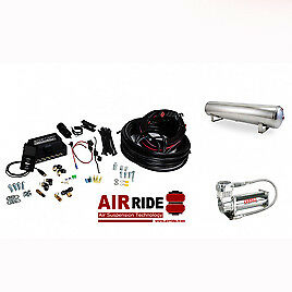 Air Lift AutoPilot 3P ALP3P (1/4″ AIR LINE, 4 GALLON 5-PORT POLISHED TANK, VI...
