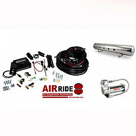 Air Lift AutoPilot 3P ALP3P (3/8″ AIR LINE, 5 GALLON POLISHED TANK, VIAIR 444...