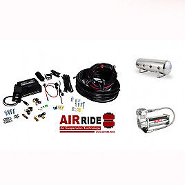 Air Lift AutoPilot 3P ALP3P (3/8″ AIR LINE, 2.5 GALLON POLISHED TANK, VIAIR 4...