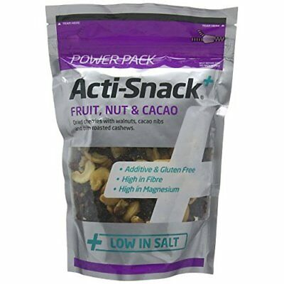 Acti Snack Fruit Nut and Cacao 220 g (Pack of 2)