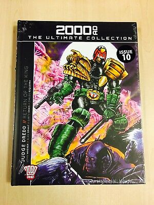 2000AD ULTIMATE GRAPHIC NOVEL COLLECTION - Issue 10 - Judge Dredd