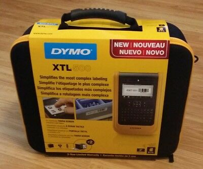 Dymo XTL 500 Label Thermal Printer Bundle Professional Industrial Labeller Tech