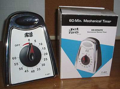 60 Minute Mechanical Timer With Free Knife Sharpener